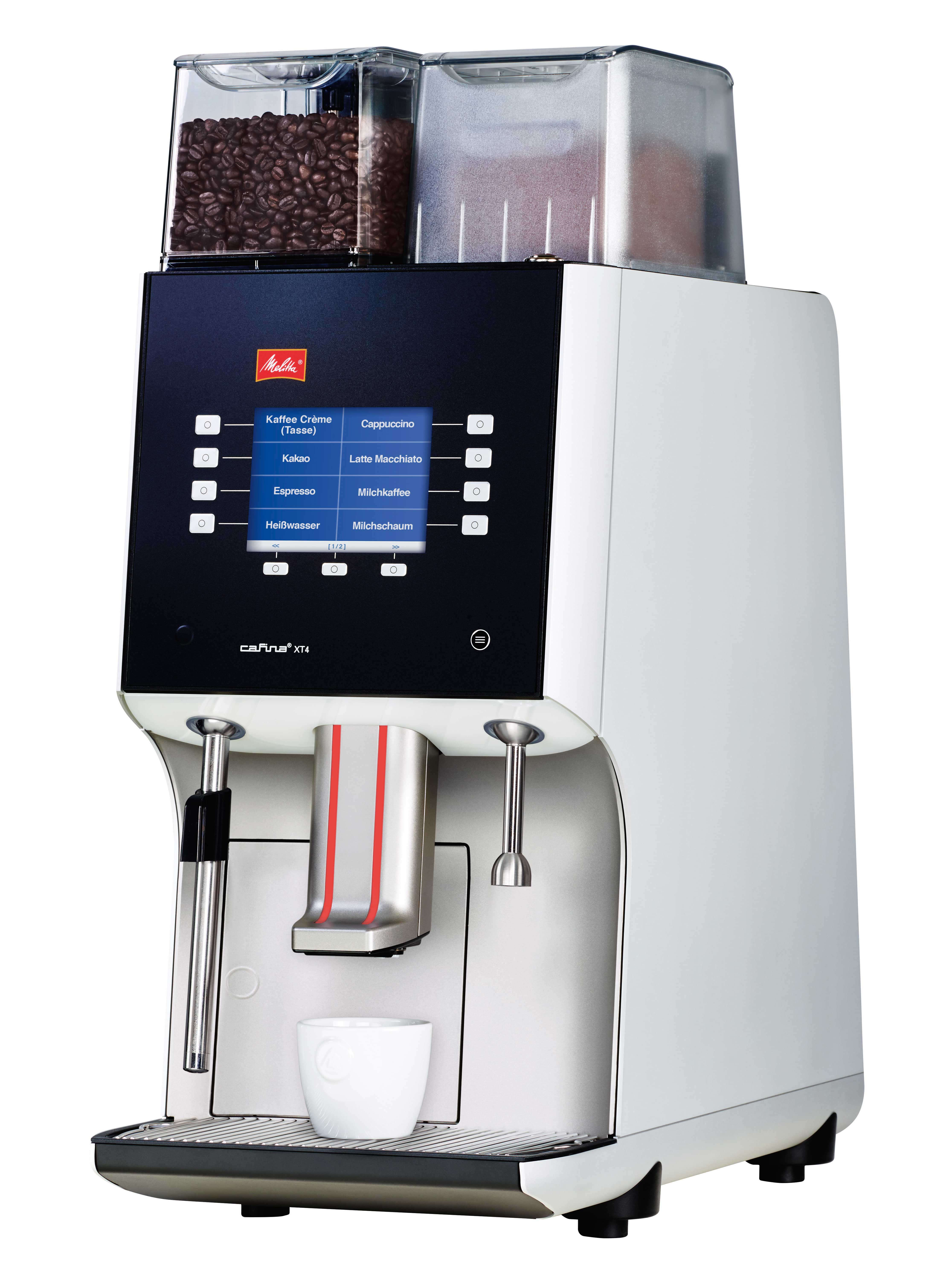 Melitta Xt4 Bean To Cup Wellbeing Commercial Coffee Machines