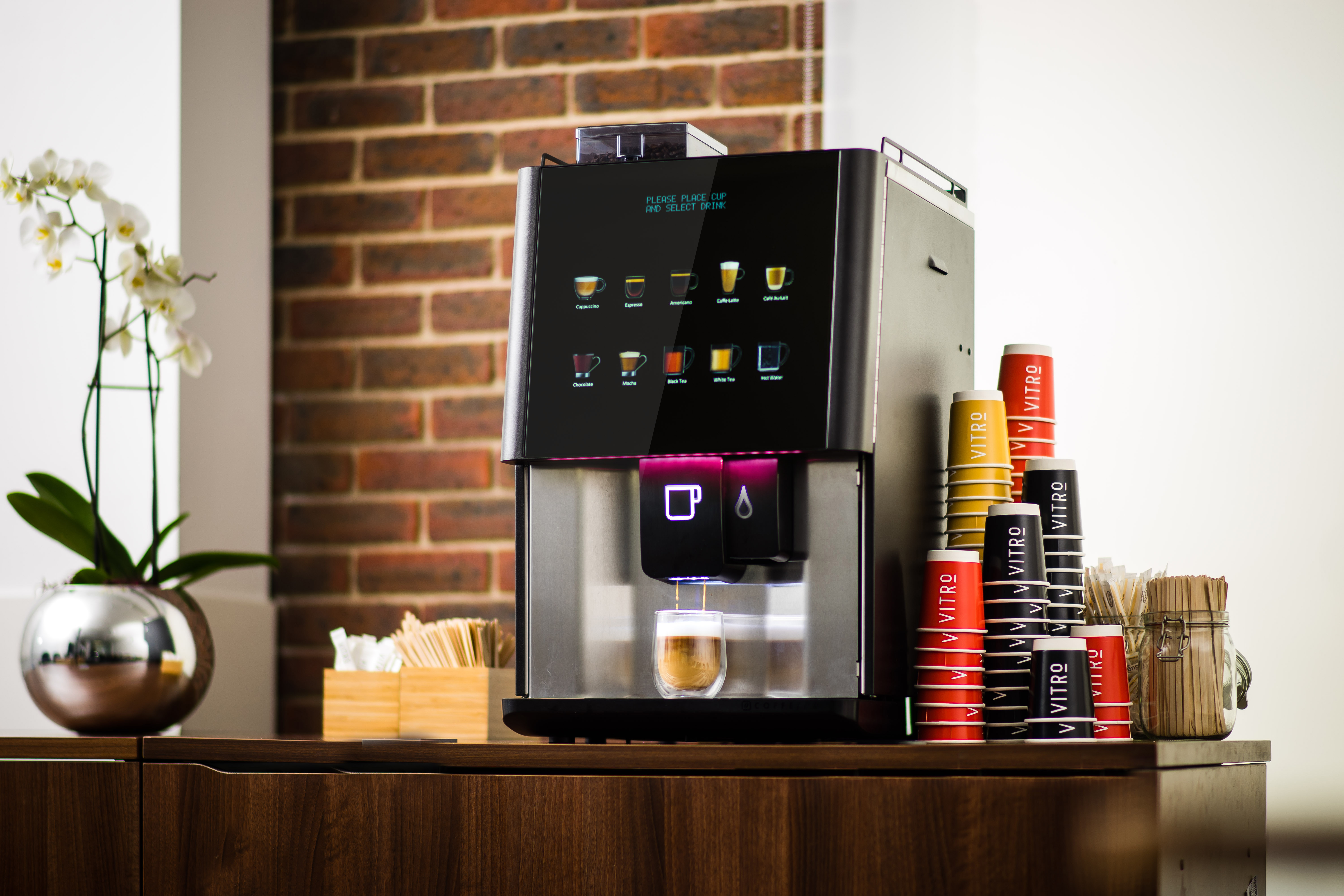 Coffee Machine for Hospitals